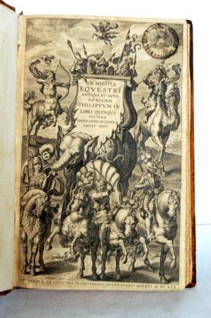 De Militia Equestri Antiqua et Nova. Ad: HUGO HERMANN (HUGONE)