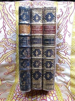 La Divina Commedia, nuovamente corretta spiegata e difesa da F.B.L.M.C. Cantica I,II,III.: Dante