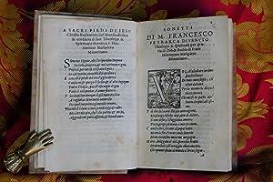 Il Petrarca spirituale di F. Hieronimo Malipiero: Malipiero Gerolamo