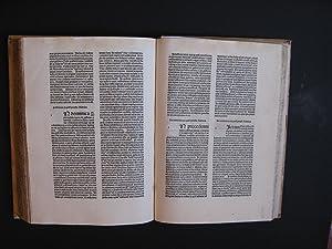 Rationale divinorum officiorum, a Johanne Aloisio Tuscano: Durandus Guillelmus (Duranti
