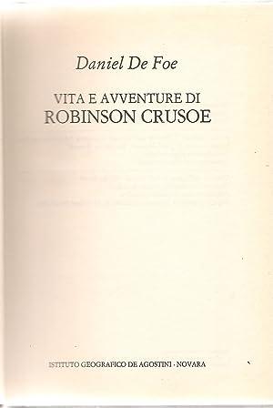 VITA E AVVENTURE DI ROBINSON CRUSOE -