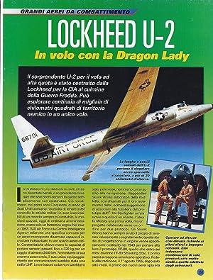 LOCKHEED U-2 - GRANDI AEREI DA COMBATTIMENTO
