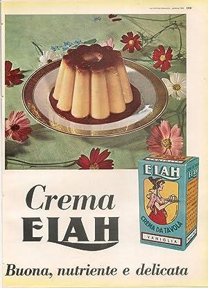 CREMA ELAH. BUONA NUTRIENTE DELICATA - ADVERTISING