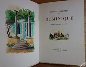Dominique. Aquarelles originales de Louis SUIRE. NUM sur Arches