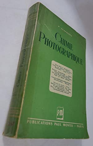 Chimie photographique - 1949 - édition originale
