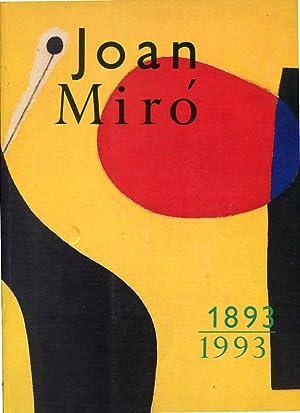 Joan Mirò 1893-1993: Fundació Joan Miró