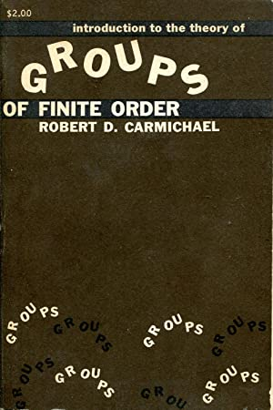 Introduction to the theory of groups of finite order
