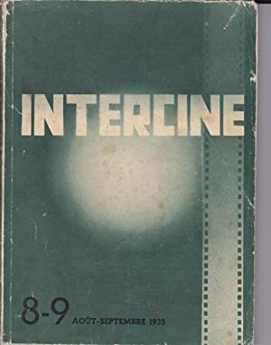 Intercine. Edition International. N. 8-9. Agosto - Settembre 1935.