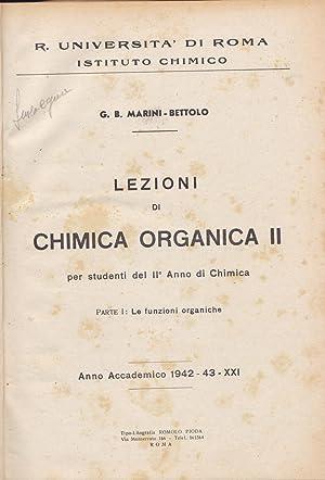 Lezioni di chimica organica II. Parte I: G. B. Marini