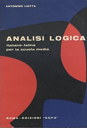 ANALISI LOGICA ITALIANO - LATINA PER LA SCUOLA MEDIA
