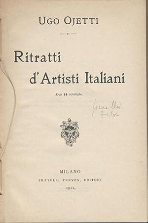 RITRATTI D'ARTISTI ITALIANI: Ugo Ojetti