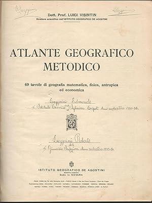 ATLANTE GEOGRAFICO METODICO: Luigi Visintin