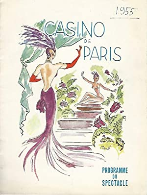CASINO DE PARIS. Programme du spectacle