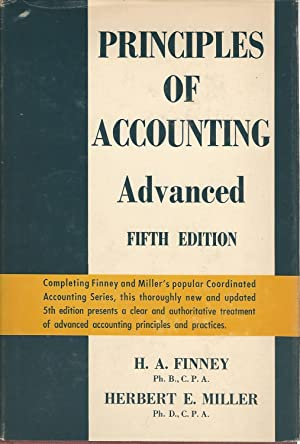 PRINCIPLES OF ACCOUNTING: H.A. Finney -