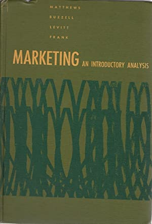 MARKETING AN INTRODUCTORY ANALYSIS