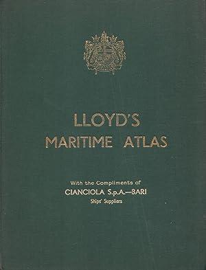 Lloyd's Maritime Atlas: R. C. E.
