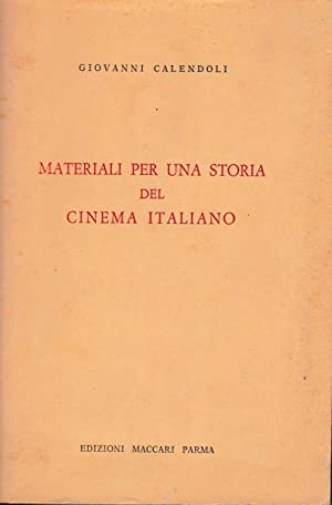 Materiali per una storia del cinema italiano