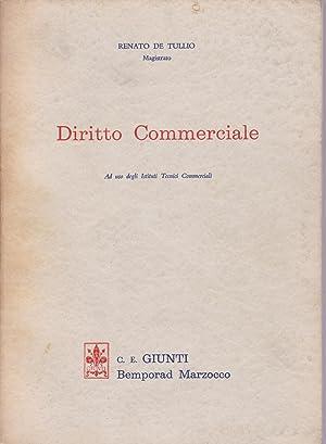 Diritto commerciale: Renato De Tullio