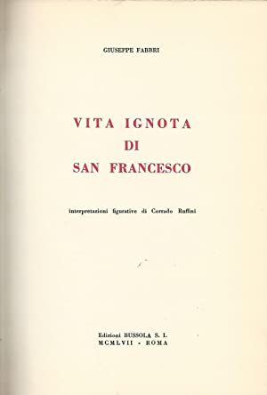 Vita ignota di San Francesco