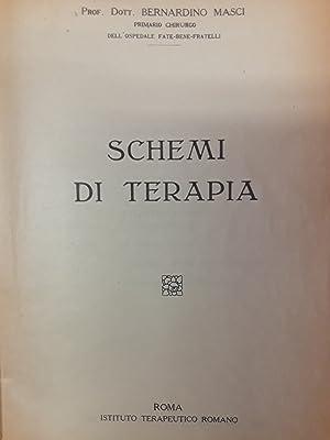 Schemi di terapia: Bernardino Masci