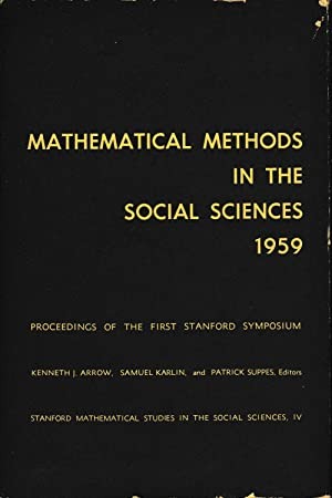 Mathematical methods in the social sciences 1959