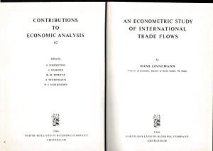 719de82a9af An econometric study of international trade flows  H. Linnemann