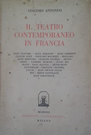Il teatro contemporaneo in Francia