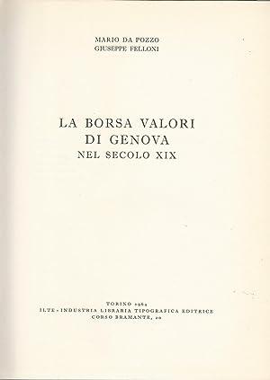 d74d8badc8 La borsa valori di Genova nel secolo: Mario Da Pozzo