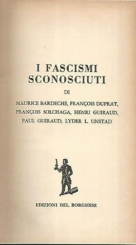 I fascismi sconosciuti: AA.VV.