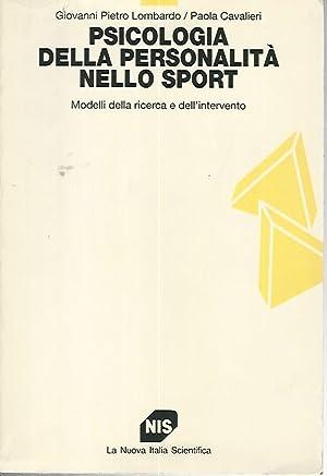 Psicologia della personalità nello sport: Giovanni Pietro Lombardo