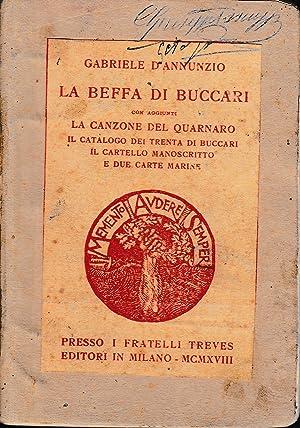 La beffa di Buccari: G. D'Annunzio