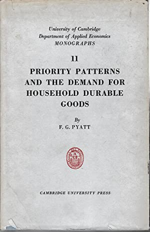Priority patterns and the demand for household durable goods