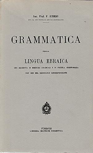 Grammatica della Lingua Ebraica: Sac. Prof. F.