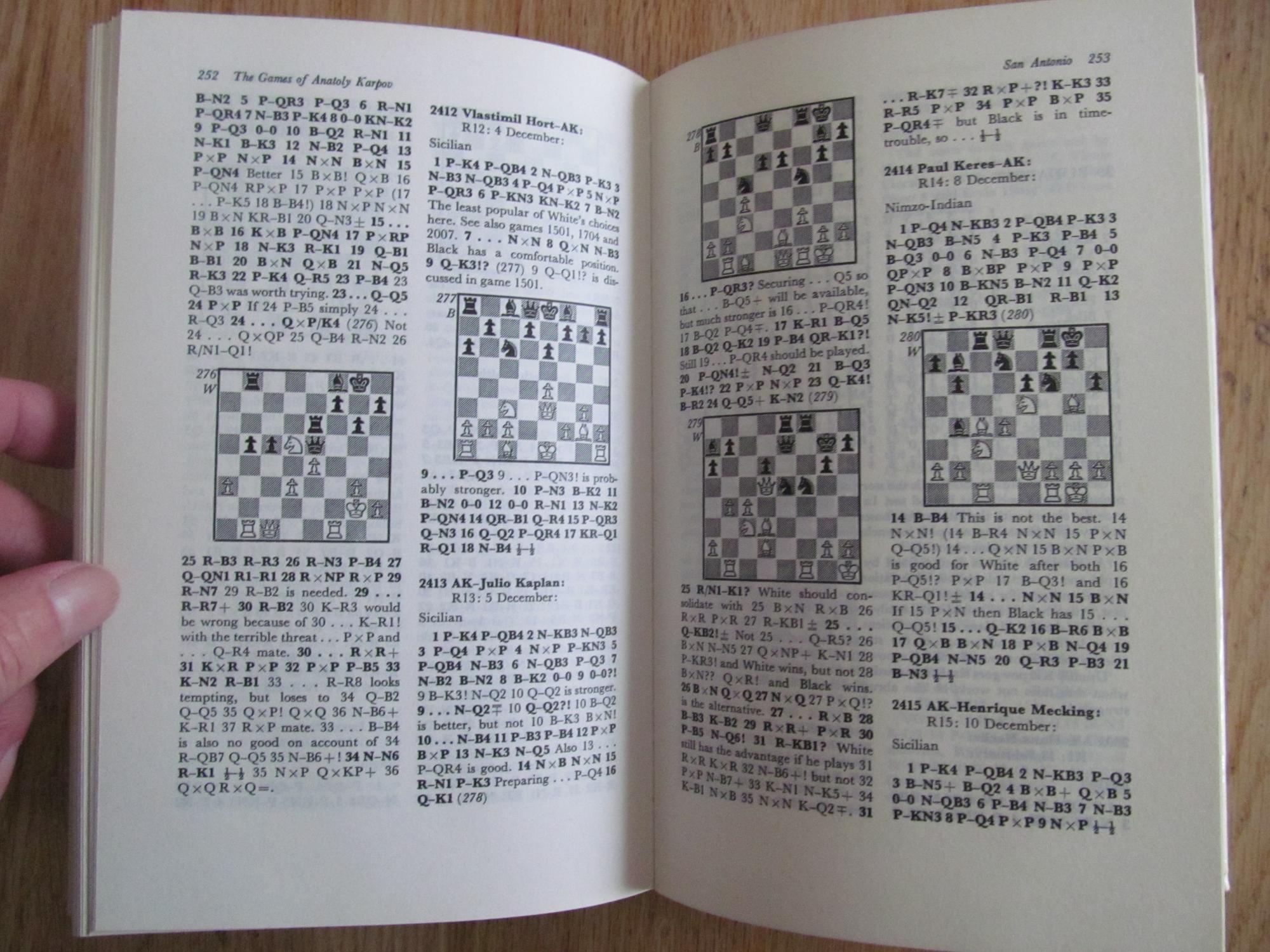 The games of Anatoly Karpov