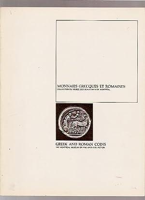 Monnaies grecques et romaines = greek and: DENIS, Paul, GROUT,