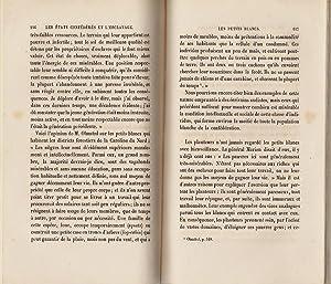 Les états confédérés et l'esclavage: SARGENT, F.W.
