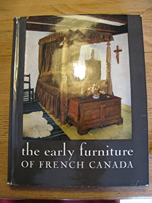 The early furniture of French Canada: PALARDY, Jean