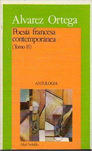 Poesía francesa contemporánea II: Manuel Álvarez