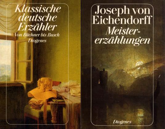 2 Bücher: Joseph von Eichendorff Meistererzählungen /: Eichendorff, Josef von