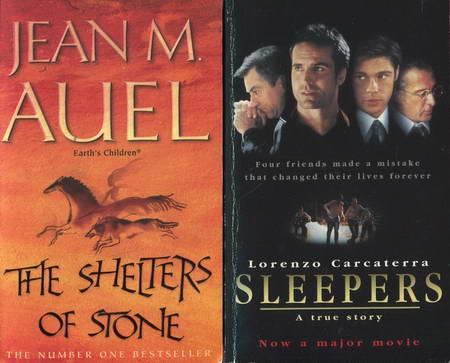 2 Bucher Sleepers The Shelters Of Stone Von Carcaterra Lorenzo Auel Jean M Peter Nieradzik Antiquariat Librobase