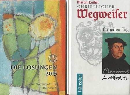 2 Bücher: Christlicher Wegweiser für jeden Tag: Luther, Martin /