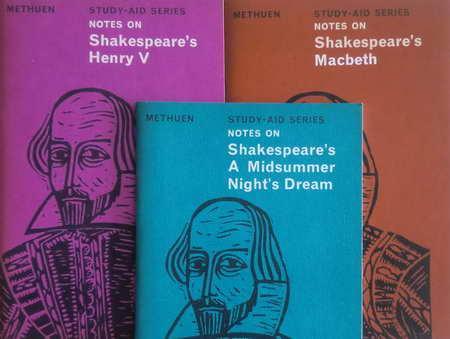 3 Englisch-Serien Notes on Shakespeare's: Macbeth /: Shakespeare, William