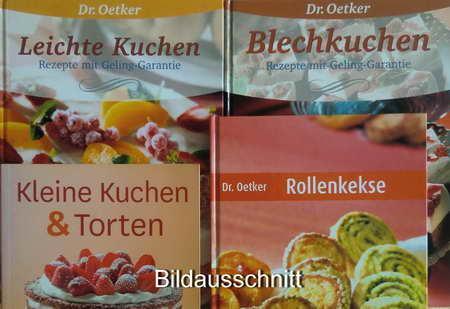 Blechkuchen Rezepte Mit Von Oetker Zvab