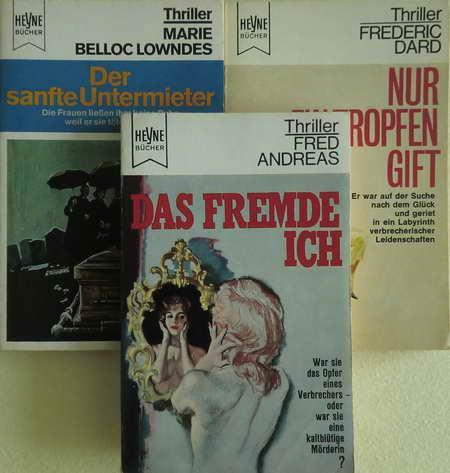 3 Thriller: Das fremde Ich / Nur: Andreas, Fred /