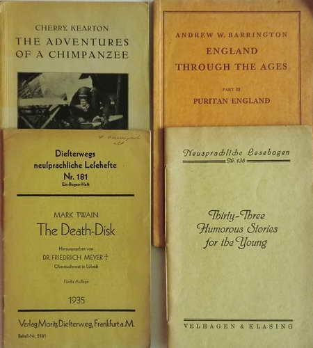 4 Englische Hefte: The Adventures of a: Keaton, Cherry /