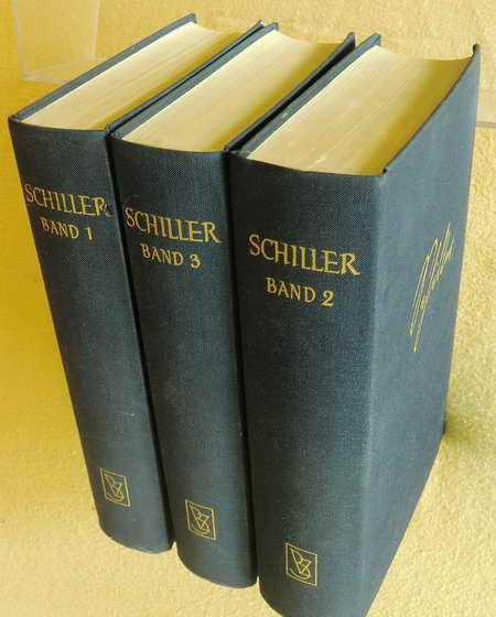 3 Bände: Friedrich Schillers Werke 1. Band: Stenzel, Gerhard Hrsg.