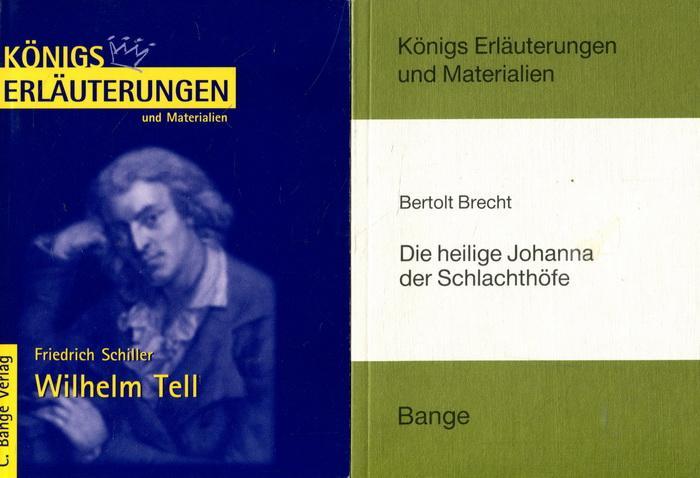 2 Bücher Königs Erläuterungen und Materialien: Die: Brecht, Bertolt /