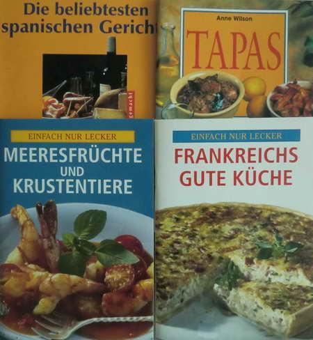 Bücher Sammlungen & Pakete 4 Kochbücher