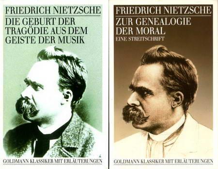 2 Bücher: Zur Genealogie der Moral. Eine: Nietzsche, Friedrich
