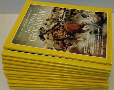 12 Englische Hefte: National Geographic Vol. 169: National Geographic Society
